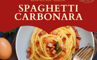 Der italienische Klassiker: Carbonara