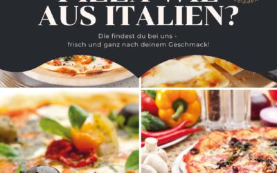 Steinofenpizza, wie aus Italien